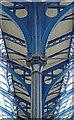 TQ3005 : Column detail, train shed, Brighton Station by Julian Osley