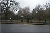 TQ3386 : Southern Entrance, Abney Park Cemetery by N Chadwick