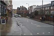 TQ3386 : Stoke Newington Church St, B104 by N Chadwick