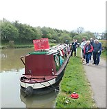 SP6989 : Shop on a Narrow Boat by Anthony Parkes
