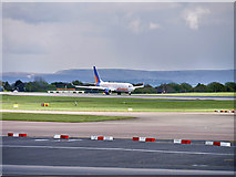 SJ8184 : Jet2 Boeing 737 at Manchester Airport by David Dixon