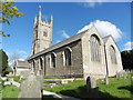SX0759 : Lanlivery, St Brevita's church by Dave Kelly