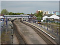 SE6132 : Wiggly lines - Selby Station by Chris Allen