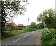 TG3204 : New Inn Hill past Eelcatcher Close by Evelyn Simak