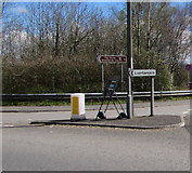 ST3091 : This way for Llantarnam and the Three Blackbirds Inn, Cwmbran by Jaggery