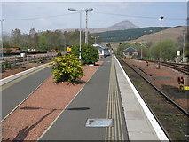 NN3825 : Crianlarich Railway Station by G Laird
