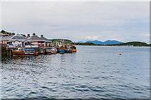 NM8529 : Oban Bay by Ian Capper