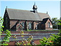 SJ9242 : Holy Trinity Church, Meir by David Weston