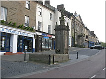 NU1813 : St Michael's Pant, Market Street, Alnwick by G Laird