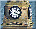 NS3274 : Port Glasgow Town Building clocks by Thomas Nugent