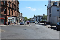 NS3321 : Fort Street leading to Alloway Place, Ayr by Billy McCrorie