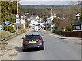NH9022 : The Main Road through Carrbridge by David Dixon