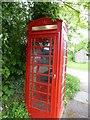 TF0727 : Empty phone box by Bob Harvey