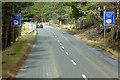 NH8824 : A938 - Low Bridge Ahead by David Dixon