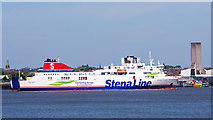 SJ3290 : Stena Lagan leaving Birkenhead - May 2017 by The Carlisle Kid