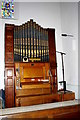 NY4348 : Organ in St Mary's Church by Tiger