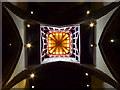 TF9336 : Looking up in Church at Shrine at Walsingham, Norfolk by Christine Matthews