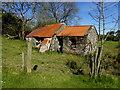 H5582 : Ruined farm dwelling, Aghnamerrigan by Kenneth  Allen