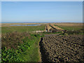 TG0743 : Footpath to Salthouse Marshes by Hugh Venables