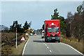 NJ0133 : Goods Vehicle Crossing Dava Moor by David Dixon