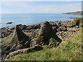 SX8136 : Head deposit sea stacks by Hugh Venables