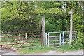 ST1693 : Gate to Rhymney Valley Ridgeway Walk by M J Roscoe