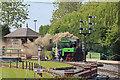 SK2406 : Statfold Barn Railway by Chris Allen