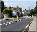 SO8304 : Pedestrian refuge in Westward Road, Stroud by Jaggery
