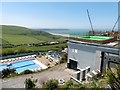 SS4644 : Leisure facilities at Woolacombe Bay Holiday Village by Roger Cornfoot