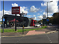 SP3165 : Costa Drive Thru adjacent to Morrisons, Old Warwick Road, Leamington by Robin Stott