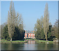 SU7684 : Fawley Manor from the Thames Path by Des Blenkinsopp