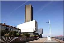 SJ3290 : Promenade and Ventilation Tower, Seacombe by Jeff Buck