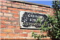 SJ3290 : Old pub car park sign near Seacombe Ferry by Jeff Buck