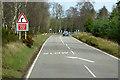 NJ0156 : A940, Loch Wood by David Dixon