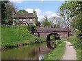 SJ9688 : Brick Bridge by Stephen Burton