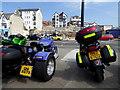 C8138 : Motor bikes, Portstewart by Kenneth  Allen