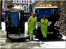 C4316 : Street cleaners, Derry / Londonderry by Kenneth  Allen