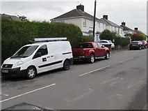 ST3090 : J.W.Bowkett van, Pillmawr Road, Malpas, Newport by Jaggery