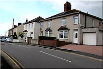 ST3090 : Houses near the western end of Pillmawr Road, Malpas, Newport by Jaggery