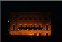 TQ2879 : View of Apsley House illuminated from Hyde Park Corner by Robert Lamb