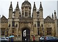 TL4458 : Gateway, King's College by N Chadwick