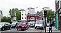TQ2983 : Camden Road at Mornington Crescent Underground, 2006 by Ben Brooksbank