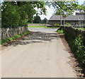 SO3408 : End of the National Speed Limit, Llanfair Kilgeddin, Monmouthshire by Jaggery