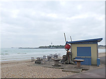 SY6879 : Beach Cafe, Weymouth by Gary Rogers