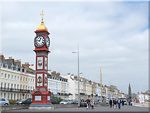 SY6879 : Clock Tower, The Esplanade, Weymouth by Gary Rogers