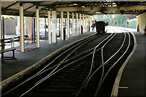 TR1534 : Hythe Station by Peter Trimming