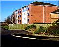 SJ5083 : Old Coach Road flats, Runcorn by Jaggery