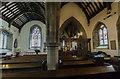 SK8386 : Interior, St Helen's church, Lea by Julian P Guffogg