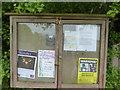 TF0216 : Parish notices by Bob Harvey