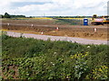 TL3067 : A14 road improvements by Michael Trolove